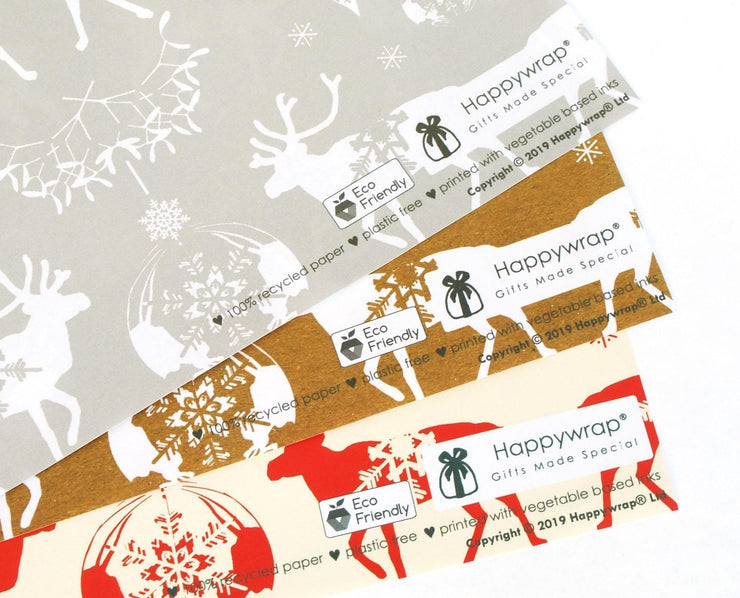 Eco-friendly Christmas Gift Wrap Paper