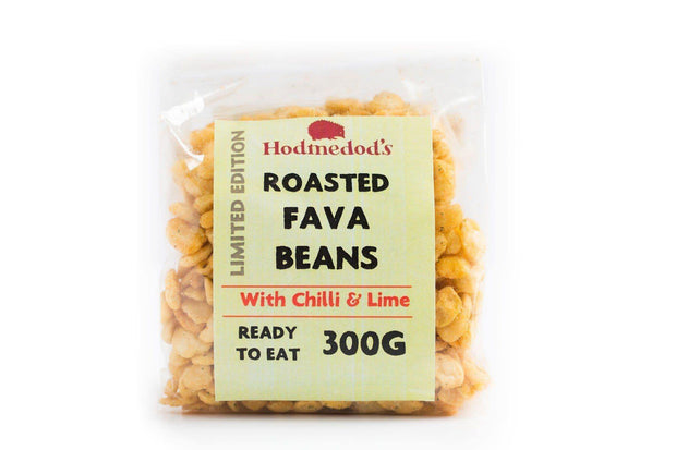 Roasted Fava Beans, Chilli & Lime - 300g