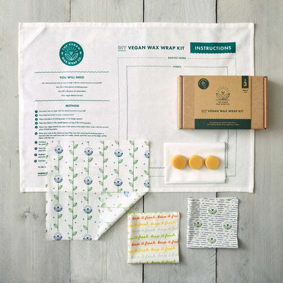 Make Your Own Vegan Wax Wraps Kit - EcoVibe