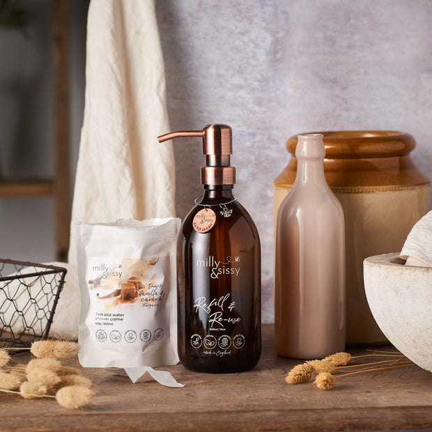 Vanilla & Caramel Shower Creme Gift Set