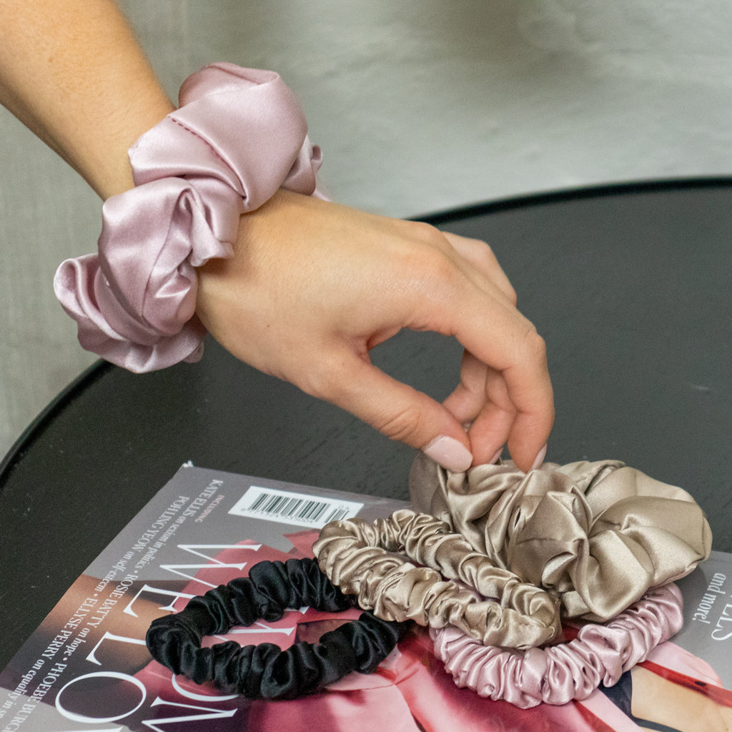 A Hair Tie To Dye For