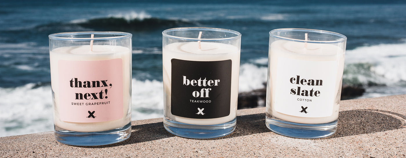 Better Than X Candle Collection