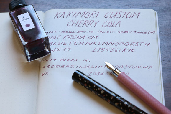 Inkstand by Kakimori - Custom Cherry Cola mini review