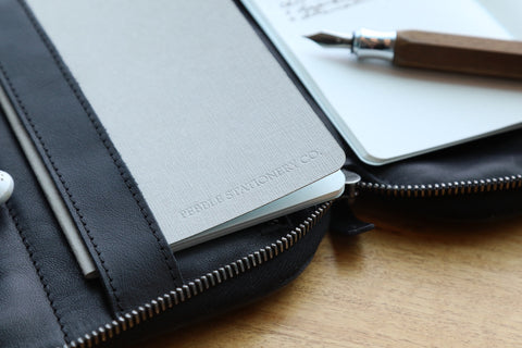 The Pocket Tomoe River Notebook by Pebble Stationery Co.