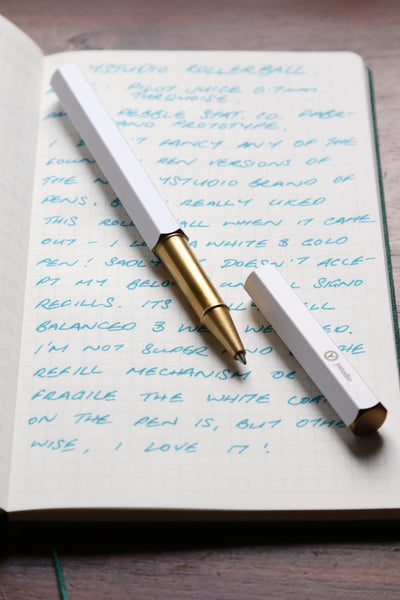 Pebble Stationery Co Ystudio Rollerball review