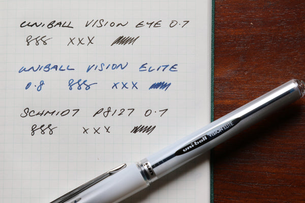 Pebble Stationery co Uniball Vision Elite