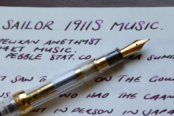 Pebble Stationery Co Sailor 1911S Music