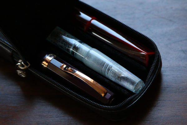 Pebble Stationery Co Visconti Dreamtouch Three Pen Case