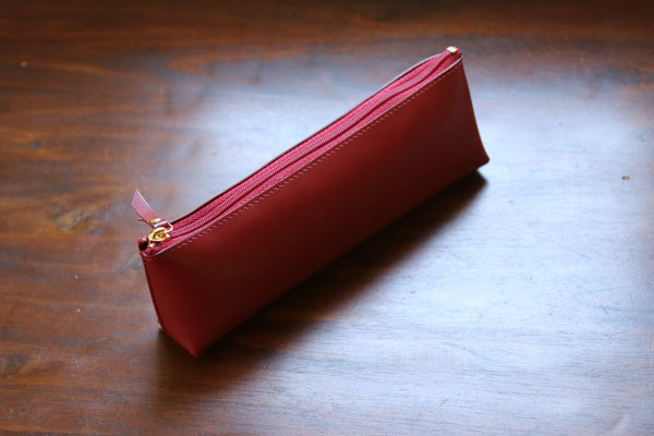 Pebble Stationery Co Raymay Gloire Leather Pen Case