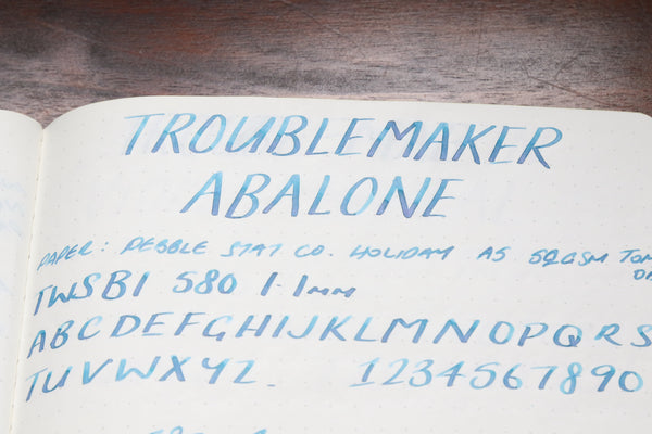 Pebble Stationery Co Troublemaker Abalone