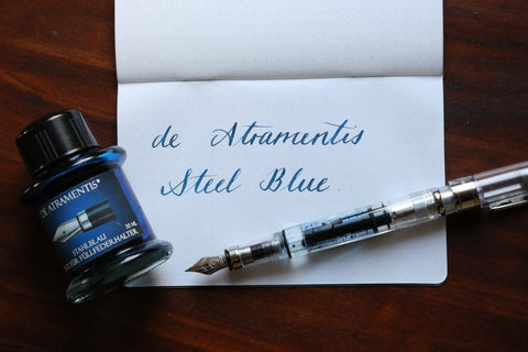 De Atramentis Steel Blue Pebble Stationery Co