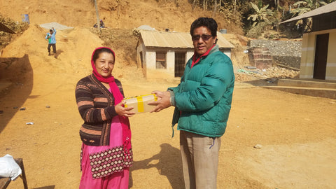 Pebble Stationery Co supporting Shree Annapurna School in Nepal