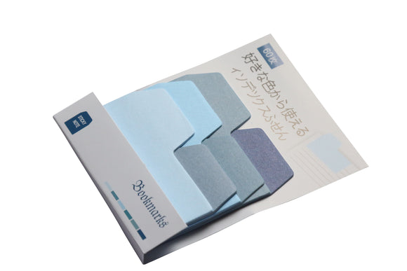 Index Tab Sticky Notes - Blue