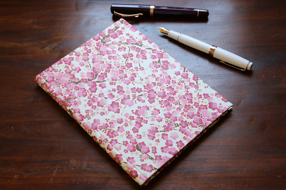 Chiyogami A5 Tomoe River Notebook - Pink Sakura