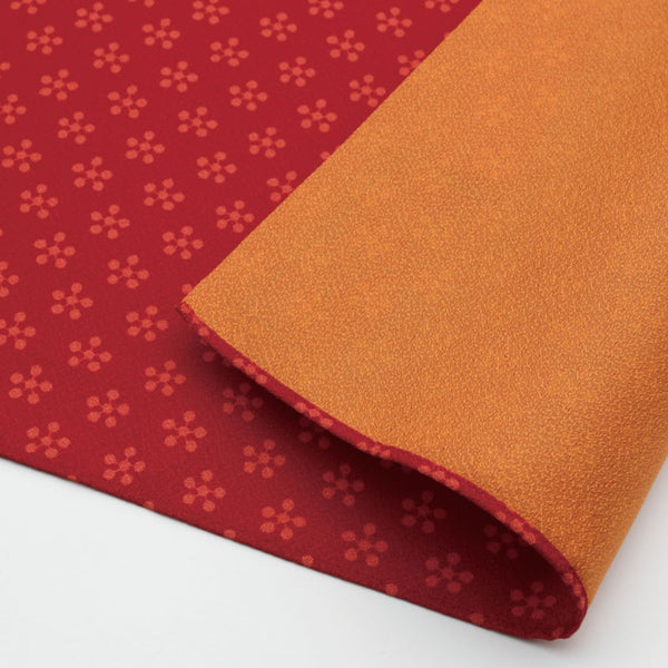 45 Toki-iro Reversible | Rikyubai (Japanese Apricot) Red/Orange