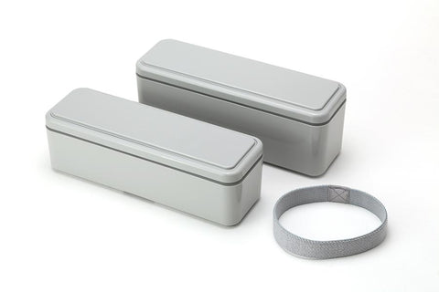 Gel-Cool Fit Slim Bento Box Small/Large | Oyster Gray