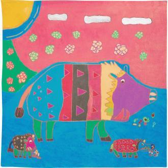 50 Art Brut | Boar family
