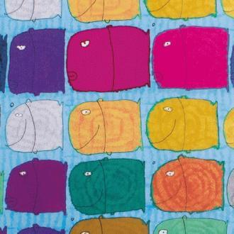50 Art Brut | Colorful fish Multi