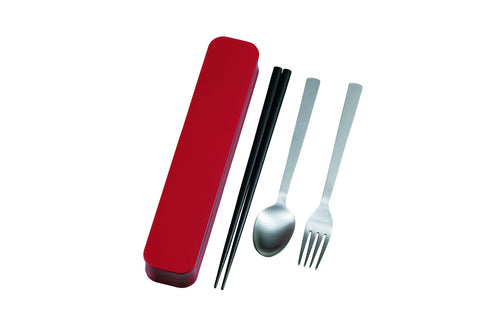 Cutlery Set | Red