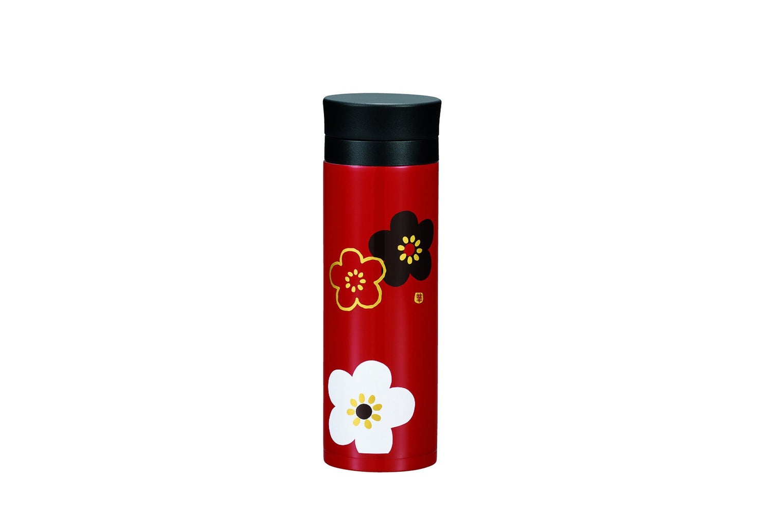Plum Stainless Steel Bottle | Red