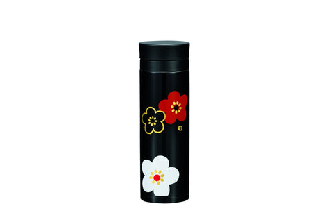 Plum Stainless Steel Bottle | Black