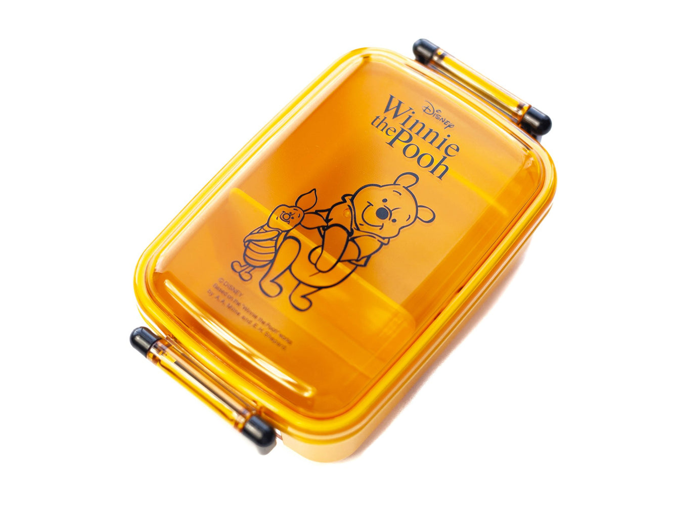 Winnie the Pooh Side Lock Bento Box 450mL | Honey