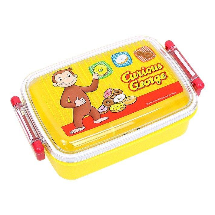Curious George Side Lock Bento Box 450mL | Rectangle