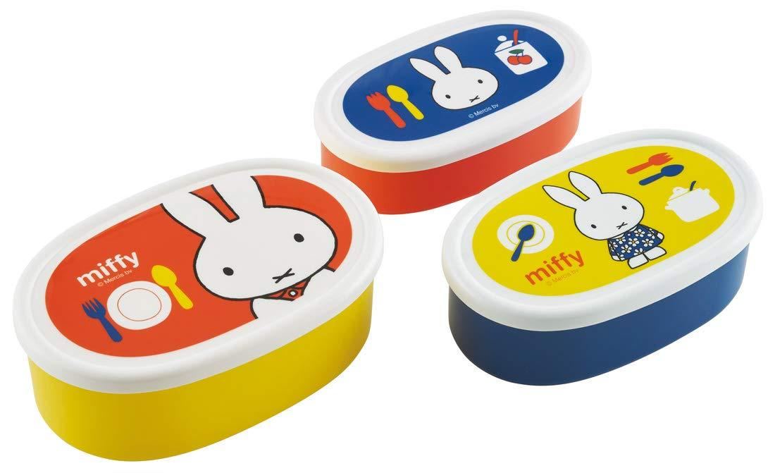 Miffy Oval Food Container 3P set