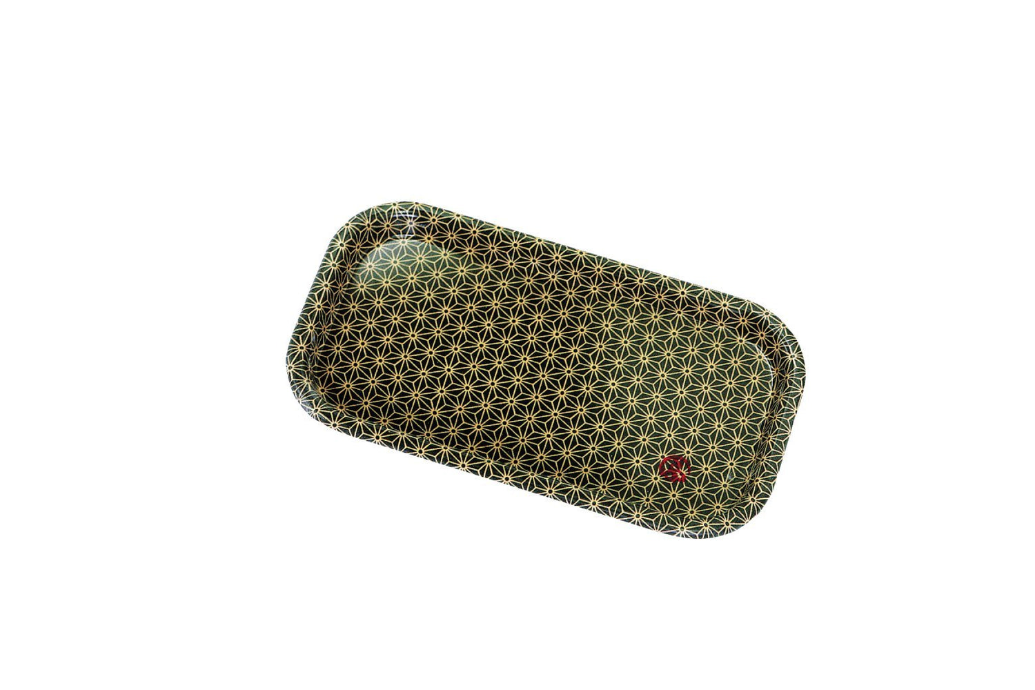 Wafu Cloth Cafe Tray Mini | Asanoha Leaf