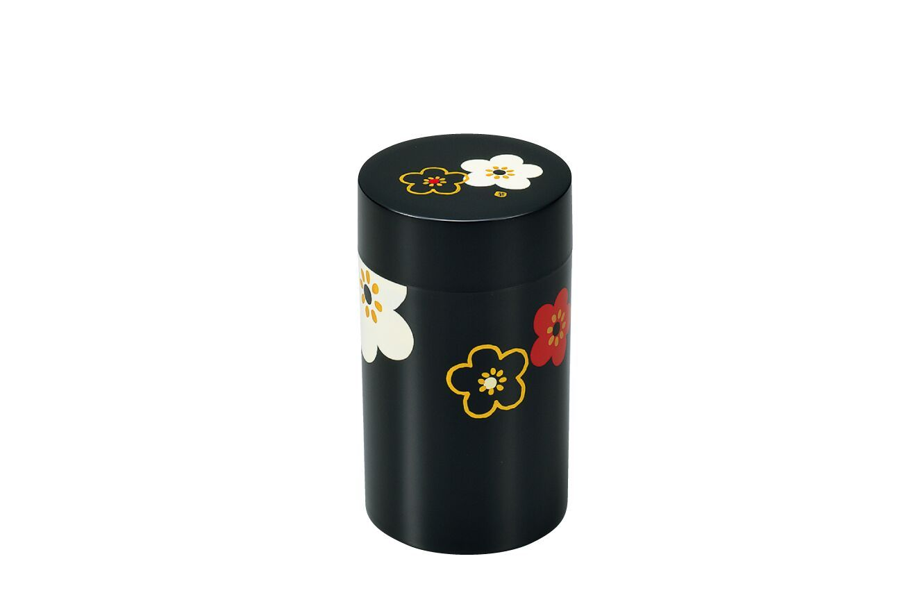 Sakura Tea Box Large | Black by Hakoya - Bento&co Japanese Bento Lunch Boxes and Kitchenware Specialists
