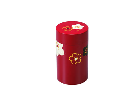 Sakura Tea Box Large | Red by Hakoya - Bento&co Japanese Bento Lunch Boxes and Kitchenware Specialists