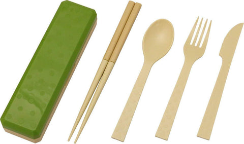 GO OUT Cutlery | Moss Green