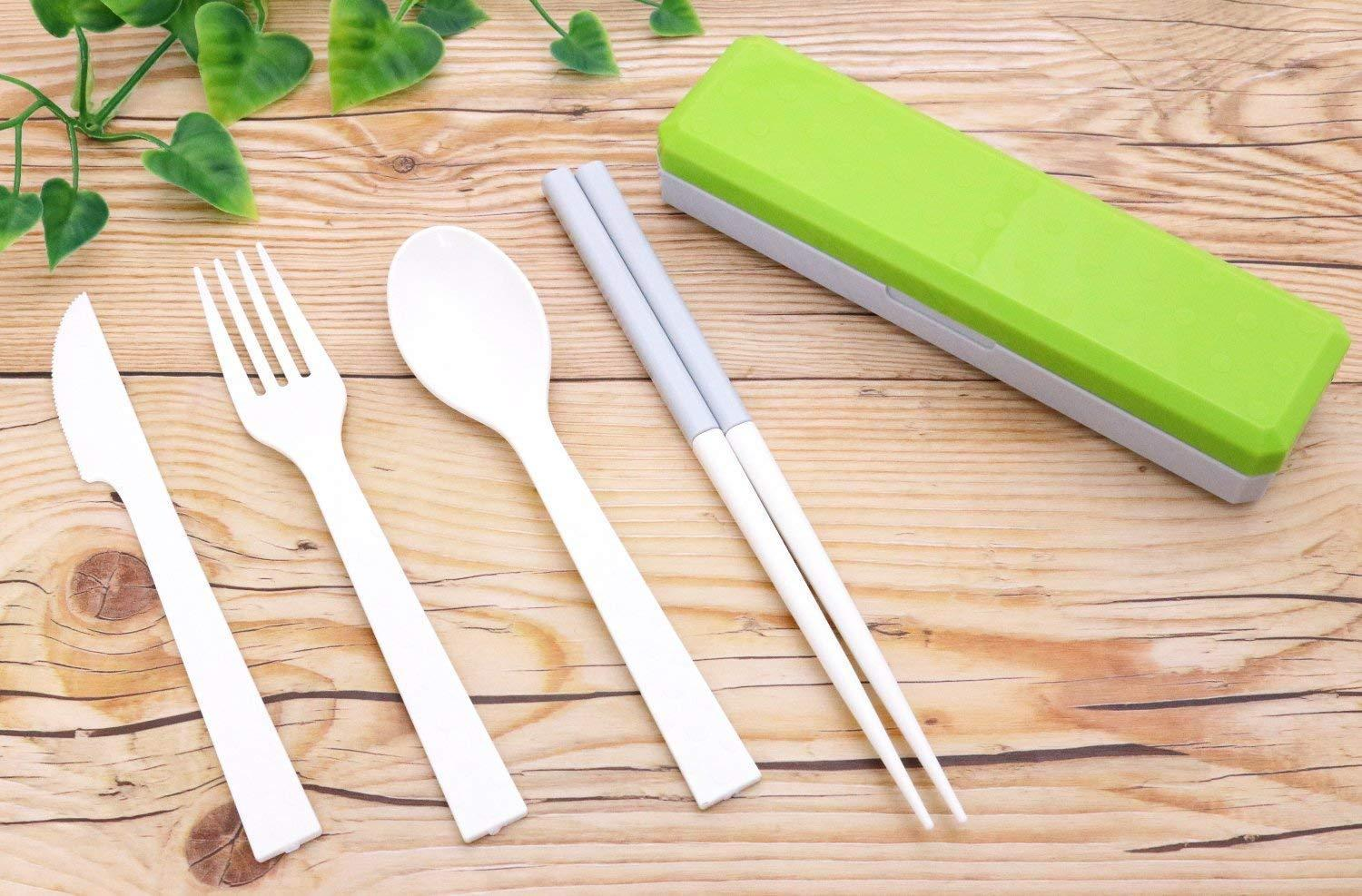 GO OUT Cutlery | Greenery