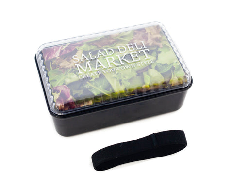 Salad Deli Market Bento Box | Black