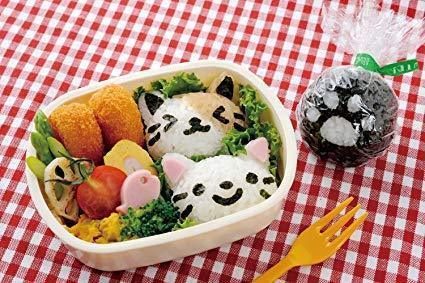 Onigiri Set | White Cat
