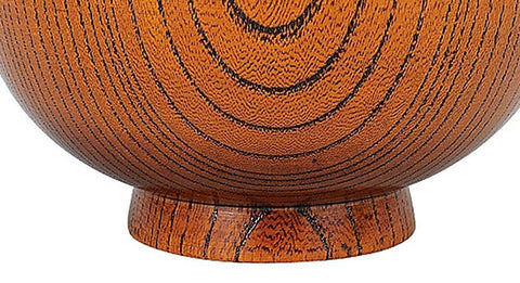 Artisan Keyaki Wooden Bowl 330mL