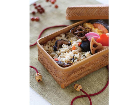 Weaved Bamboo Bento