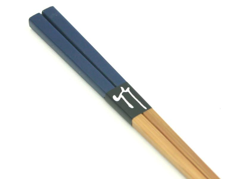 Colorful Bamboo Chopsticks | Blue
