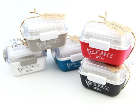 Free and Easy Square Bento | Black
