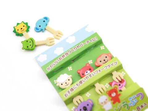 Picks animal friends fork