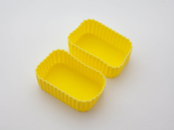 Silicone Rectangle Cup | Yellow