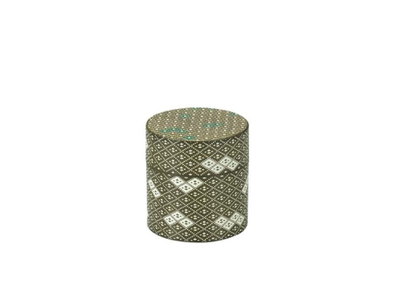 Tea Box Fabric Pattern | Green 350ml