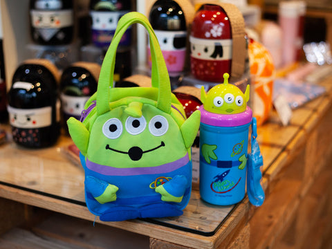 Toy Story Alien Die-Cut Straw Bottle