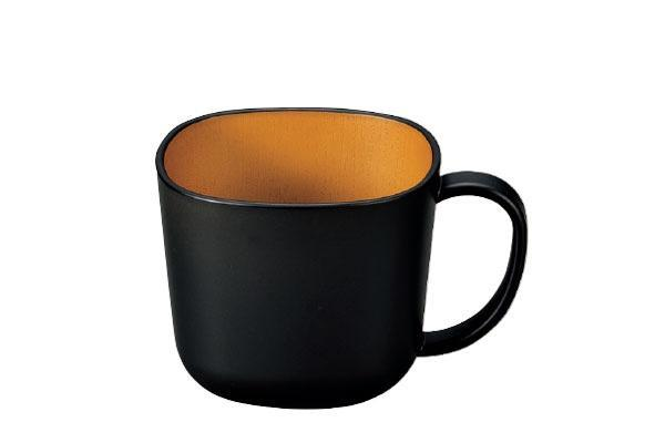 Samon Square Mug Cup Black