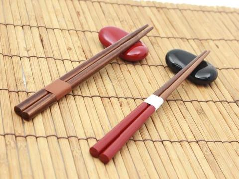 Soramame Hashi Oki Chopsticks Rest | Red