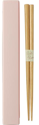 Square Color Chopsticks Set 18cm | Pink
