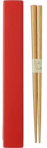 Square Color Chopsticks Set 18cm | Red