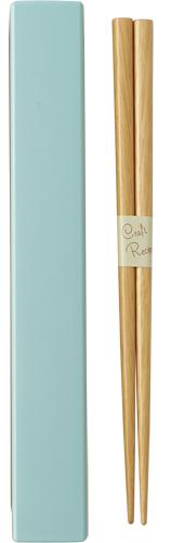Square Color Chopsticks Set 18cm | Light Blue