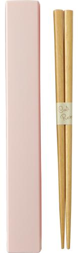 Square Color Chopsticks Set 19.5 cm | Pink