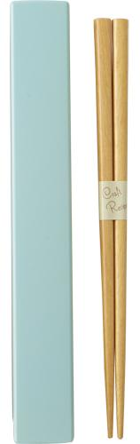 Square Color Chopsticks Set 19.5 cm | Light Blue